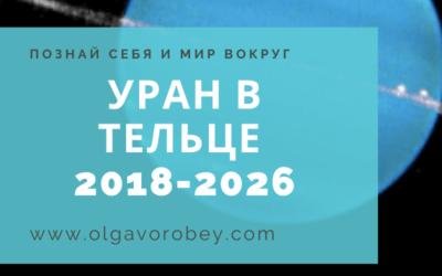 Уран в Тельце с 2018 по 2026 год
